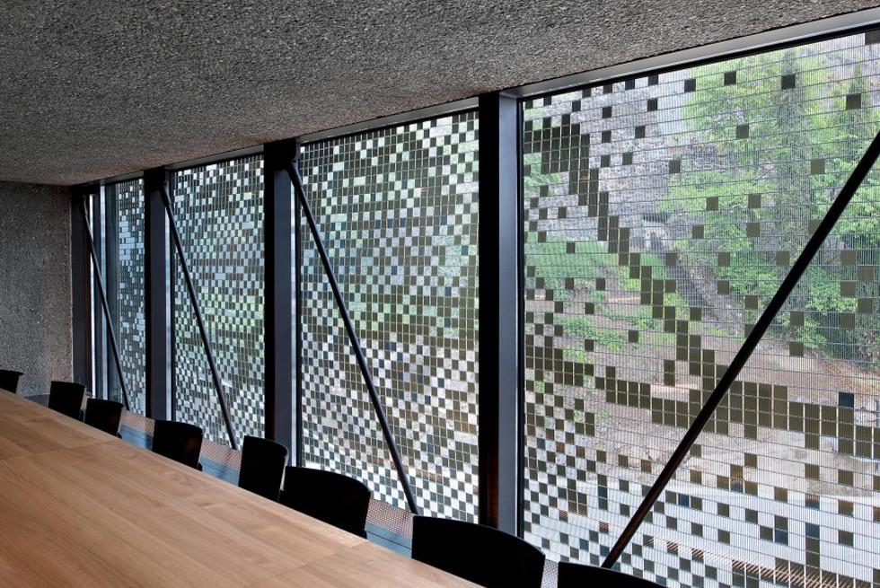 מוזיאון היין בשוויץ, מבט מבפנים, Architect: Atelier D. Schlaepfer, Photograph: KME Site.