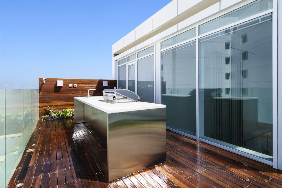 פרויקט בפרויקט של חברת בריגה, עיר ימים רמת פולג, נתניה, אדריכלות: לנצ'יאנו דיזיין, צילום: מושי גיטליס